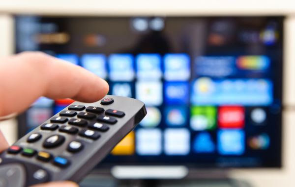 Fernbedienung und Smart TV